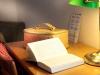 Camera, dettaglio della scrivania