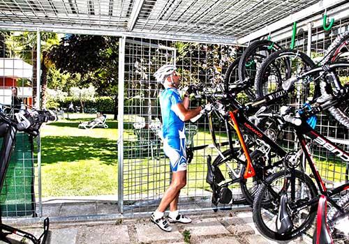 Servizio deposito biciclette